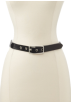 Tommy Hilfiger Belt -  Tommy Hilfiger Women's Wool Strap Belt Gray