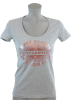 Tommy Hilfiger T-shirts -  Tommy Hilfiger Womens Solid Color Graphic T-Shirt Gray