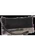 Amazon.com Hand bag -  Whiting & Davis Matte Shine Convertible Cross Body Black Pewter