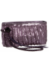 Amazon.com Hand bag -  Whiting & Davis Women's Shirred Wristlet Purple