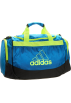 adidas Torbe -  adidas Defender Small Duffel Sharp Blue/Slime
