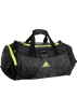 adidas Bag -  adidas Formotion Small Duffel Swirl Embossed Black/Slime