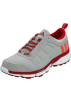 adidas Tenis -  adidas Men's Oscillate Warm Running Shoe Ice Grey/Infrared/University Red