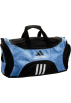 adidas Torby -  adidas Striker Medium Duffel Bag Collegiate Light Blue/Black