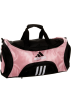 adidas Torbe -  adidas Striker Medium Duffel Bag Gala Pink