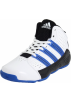 adidas Sneakers -  adidas Superbeast TD Mid Basketball Shoe (Little Kid/Big Kid) Running White/Bright Blue/Black