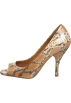 BCBGeneration Buty -  Ariel Open-Toe Pump