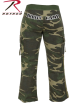 Rothco Pants -  Women's ''Booty Camp'' Capri Sweatpants By Rothco In Woodland Camo In Your Choice Of Size