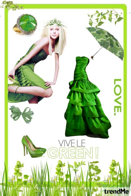 Vive le green
