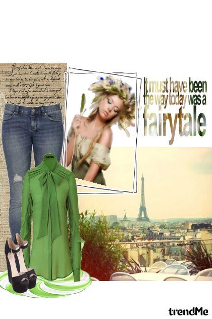 One day in Paris- Fashion set
