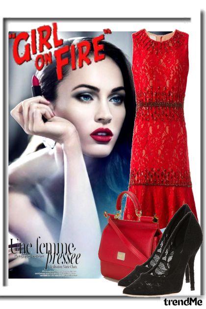 'Girl on Fire' é na Farfetch
