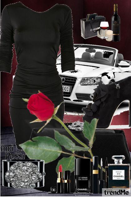 Black Red & White