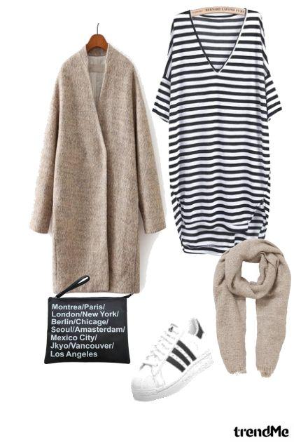 striping- Modna kombinacija