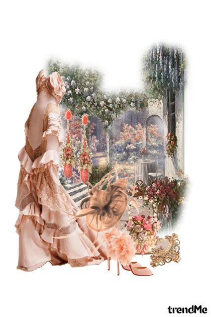 Through the flower gate...
