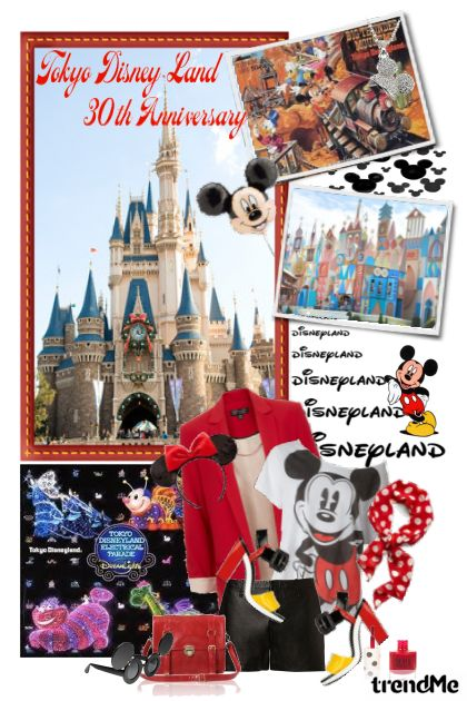 Tokyo Disney Land 30th Anniversary