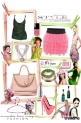 "Look #5: ""Pink&Green Style"""