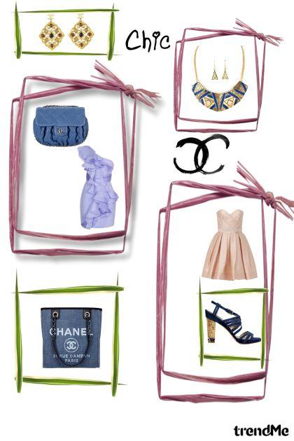 chic..blue & Chanel