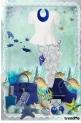 Electric blue sea