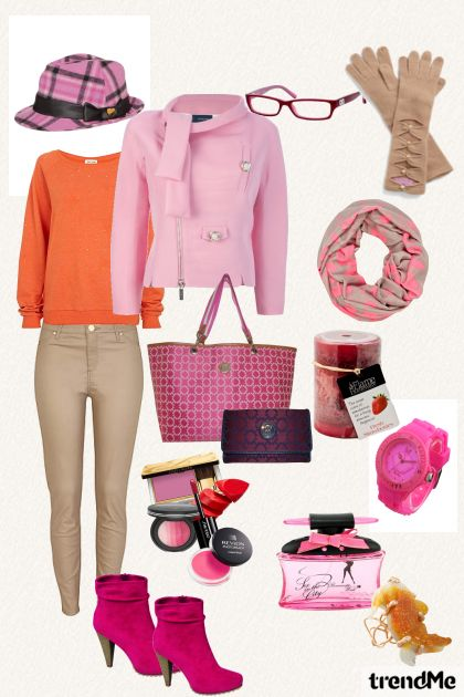 pink too- Fashion set