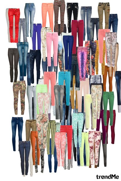 my jeans colection