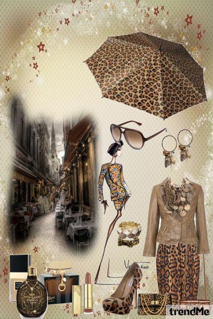 леопард- Fashion set