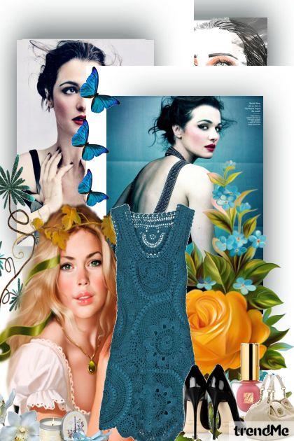 Elegante Azul