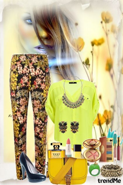 amarelo flor