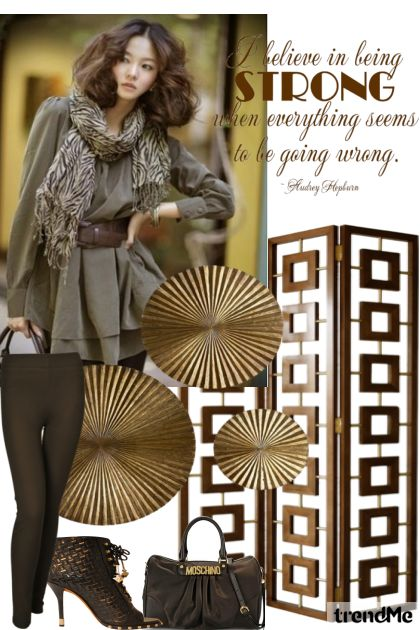 Be Strong from collection Autumn/Winter 2012 by Betty Gaither-Harmon