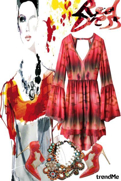 Red Dress-2
