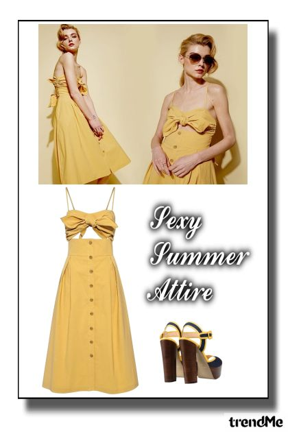 Sexy Summer Attire#2 iz kolekcije Summer 2017 od Betty Gaither-Harmon