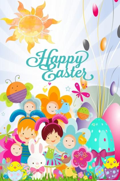 Happy Easter- Fashion set