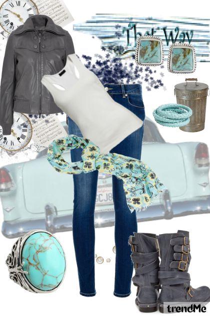 blue & gray