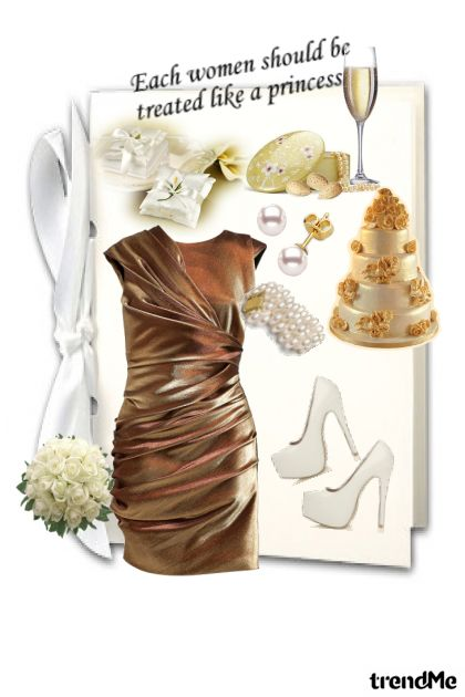 Solange All White Wedding