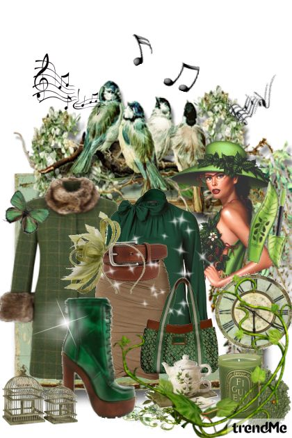 Green Bird Song...