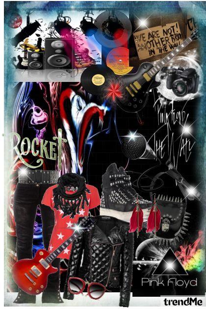 "I Love Music...,,Rock Rebel"""