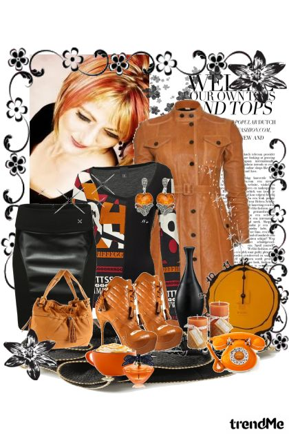 Today in Orange from collection To Work by Ywette