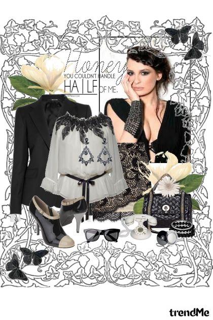 Shades of Hue:Black & White