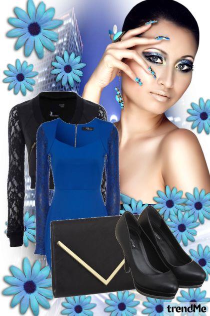 blue dreSS  :D