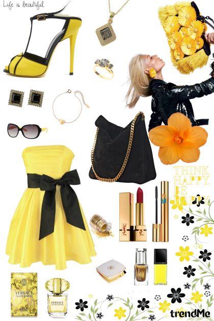 Beautiful Yellow- Modna kombinacija