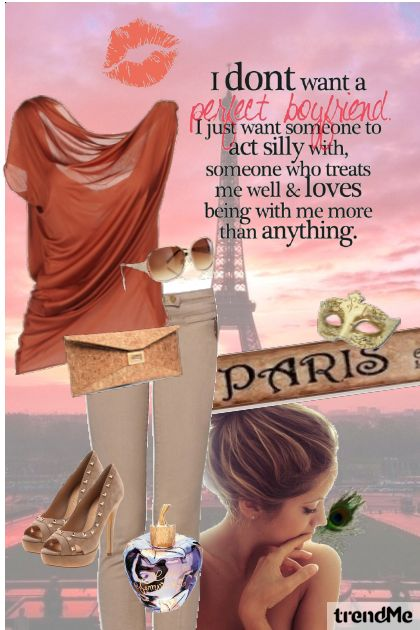 Finding love in Paris...