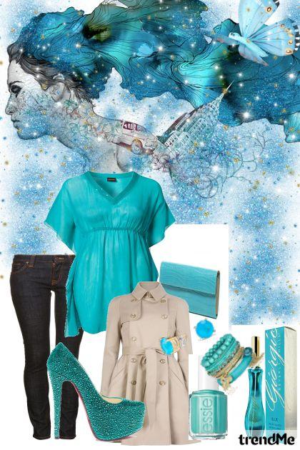 Nebesko plava čarolija