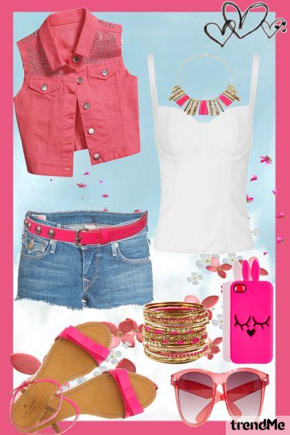 Summer love it pink :)