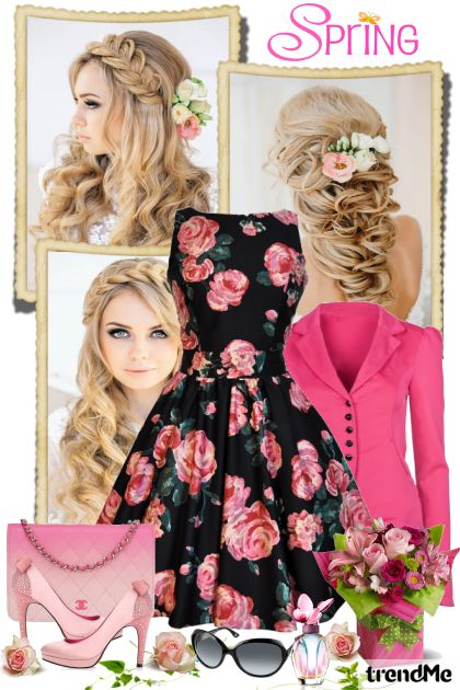 Floral Spring from collection Be Pretty In Spring by Mirna M