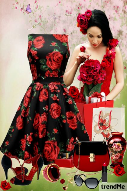 Spring Roses from collection Be Pretty In Spring by Mirna