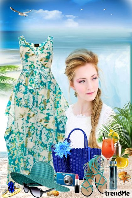 Thinking of Summer from collection Summertime by Mirna M