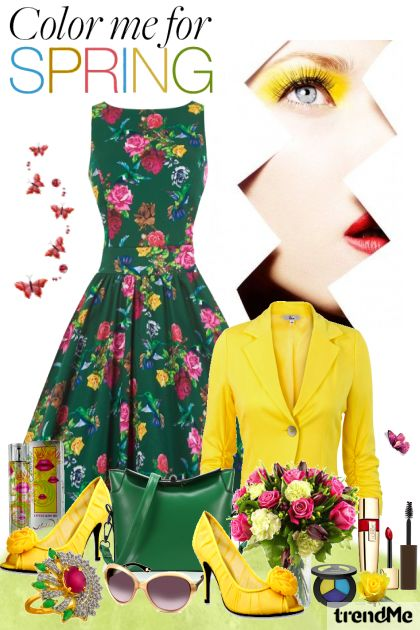 Color me for SPRING from collection Be Pretty In Spring by Mirna