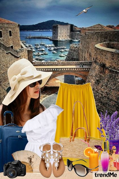 Greetings from Dubrovnik! dalla collezione Summertime di Mirna M