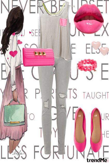 in love with fashion <3- Modna kombinacija
