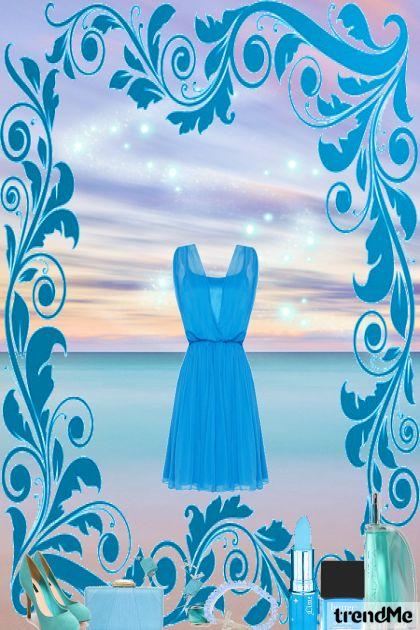 Plavo na plaži