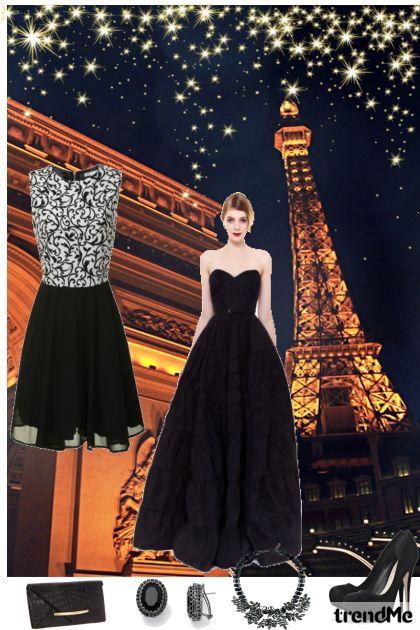 Večer u Parizu- Modna kombinacija